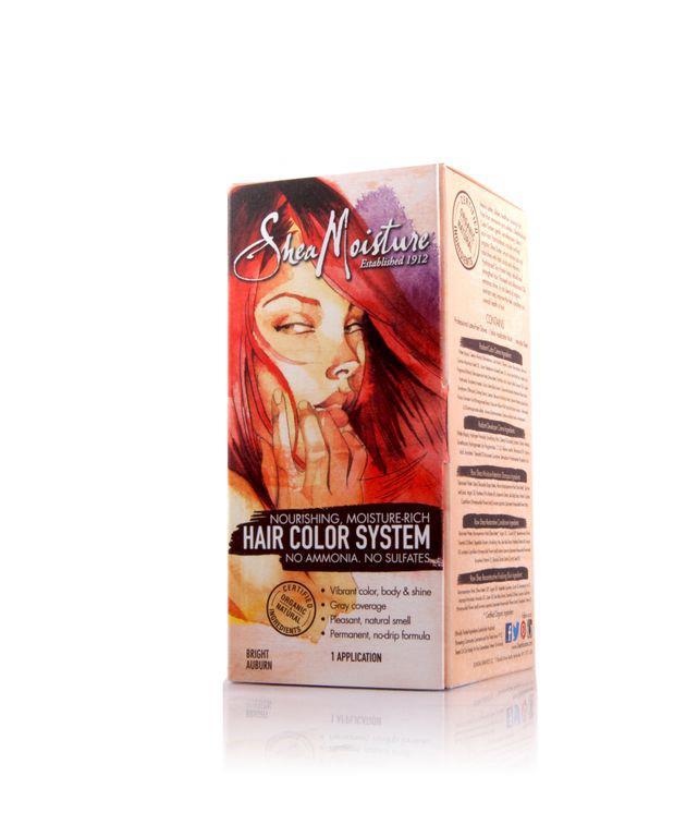 Shea Moisture Hair Coloring System Bright Auburn Natural Hair Junkies